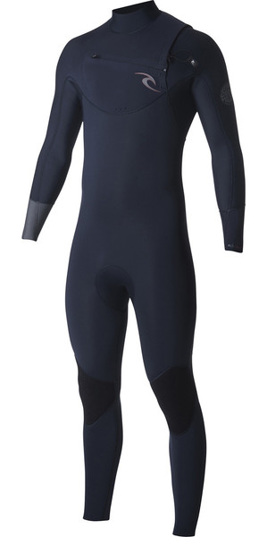 2018 Rip Curl Dawn Patrol 5 / 3mm Chest Zip Wetsuit NAVY WSM7GM