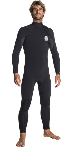 2017/18 Rip Curl Flashbomb 3 / 2mm Zip Free Wetsuit BLACK WSM7RF