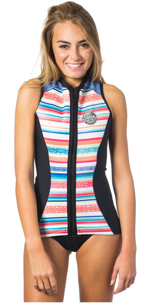 Rip Curl G-Bomb 1mm Sleeveless Neoprene Vest STRIPE WVE6BW