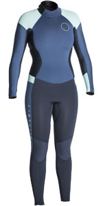Rip Curl Womens Dawn Patrol 4/3mm Back Zip Wetsuit DARK BLUE WSM6FW