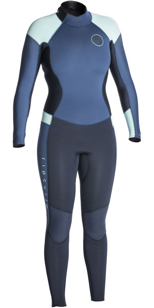 2017/18 Rip Curl Ladies Dawn Patrol 4 / 3mm Back Zip Combinaison DARK BLUE WSM6FW