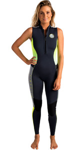 Rip Curl Dames G-bomb 1.5mm Long Jane Wetsuit Houtskool Wsm6aw