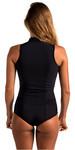 2019 Rip Curl Womens G-Bomb 1mm Sleeveless Shorty Wetsuit BLACK WSP6HW