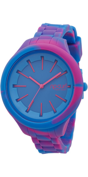 2018 Rip Curl Womens Horizon Silicone Marbled Surf Watch BLUE A2967G