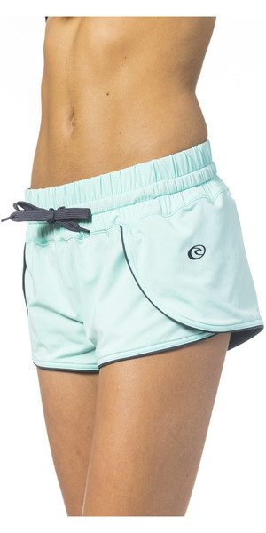 "Pantaloncini reversibili double face 2 "" Rip Curl Mirage Solid Light Blue GBOCH4"
