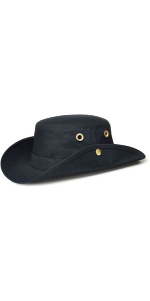 2018 Tilley T3 Snap-Up Brimmed Hat - NAVY