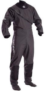 2020 Typhoon Junior Ezeedon 3 Drysuit Front Zip + Fabric Socks Grey 100158
