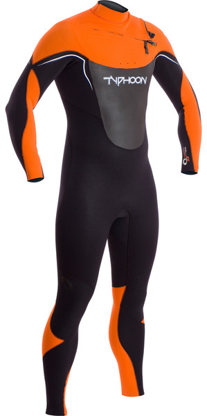 2019 Typhoon Vortex OFZ 3/2mm Chest Zip Wetsuit BURNT ORANGE 250740