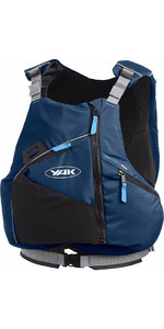 2019 Yak High Back 60N Touring Flooyancy Aid in Navy Blue 2752
