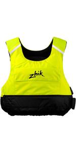 2019 Zhik Racing Cut 50N PFD Drijfvermogen Hulpmiddel In Hi-Vis Yellow PFD10