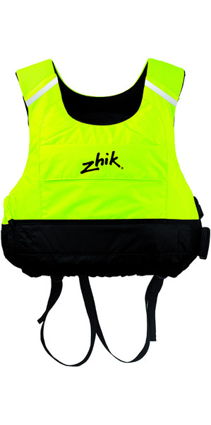 2018 Zhik Junior Racing Cut 50N PFD Ayuda a la flotabilidad Hi-Vis Yellow PFD15