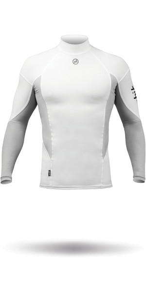 2018 Zhik Long Sleeve Spandex Top BLANCO TOP61