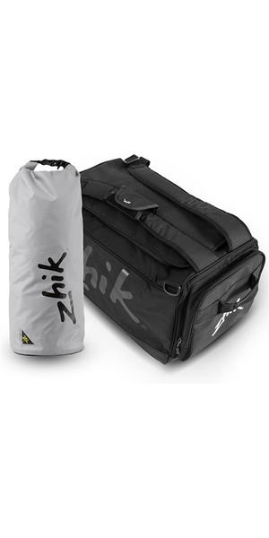 2019 Zhik Regatta Bag + Kostenlose 25L Dry Bag Schwarz BAG160