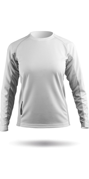 2019 Zhik Damen ZhikDry Top White Top72W
