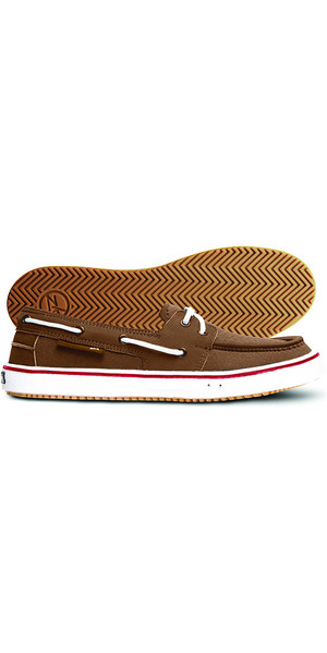 Zhik ZK Boatshoe Brown SHOE30