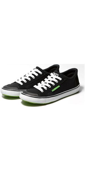 2019 Zhik ZKGs Chaussures Amphibies Noir / Lime (Vert) SHOE20