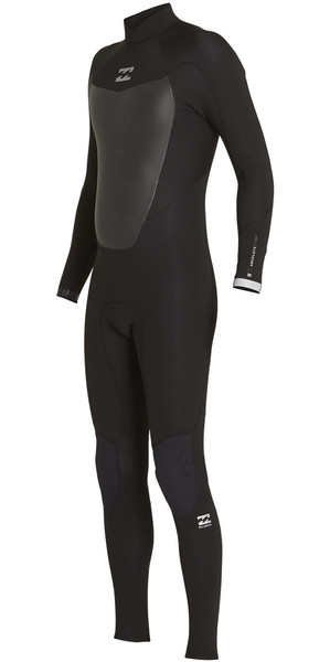 2018 Billabong Absolute Comp 5/4mm Back Zip Wetsuit BLACK F45M22