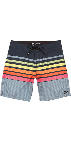 "2018 Billabong All Day OG Stripe 18 ""Boardshorts NEON H1BS34"