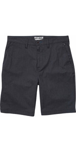 "Billabong Carter 21 ""Walk Shorts CHARCOAL HEATHER H1WK12"