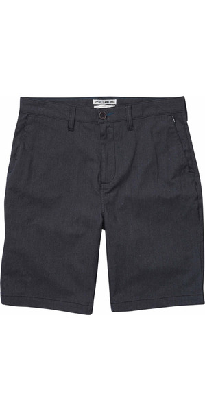"2018 Billabong Carter 21 ""Walk Shorts BERBERECH HEATHER H1WK12"