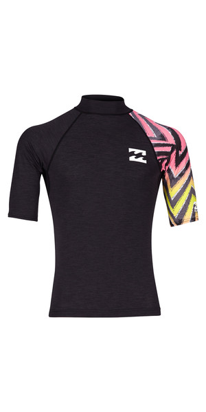 2018 Billabong Kontrast Kurzarm Rash Vest MULTi H4MY07