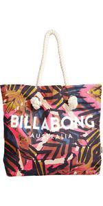 2018 Billabong Essentials Einkaufstasche PARADISE PINK H9BG09