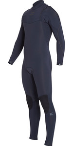 Billabong Furnace Júnior Comp 3/2mm Zipperless Wetsuit Urze Azul H43b04