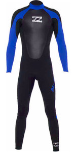 2020 Billabong Júnior Intruder 3/2mm Gbs Back Zip Wetsuit Azul 043b15