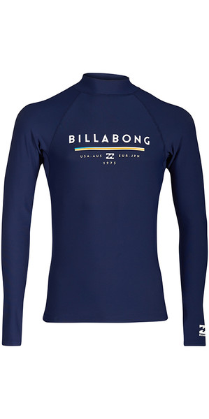 2018 Billabong Junior Unity Langarmrash Vest NAVY H4KY02