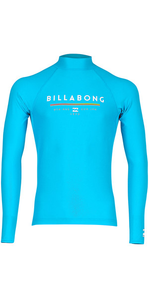 2018 Billabong Junior Einheit Langarm Rash Weste OCEAN H4KY02