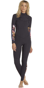 Billabong Womens Salty Daze 5/4mm Chest Zip Wetsuit Tribal H45G10