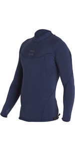 Billabong Proairlite 1mm manica lunga in neoprene Top HEATHER BLU H41M01