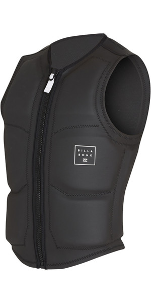 2018 Billabong Visions Wake Impact Vest NERO H4VS05