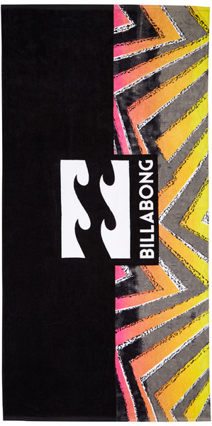 2018 Billabong Waves Towel BLACK H5TO02