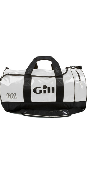 2019 Gill 60L Tarp Barrel Bag BIANCO L061