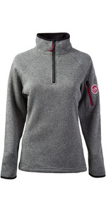 Gill Damen Strick Fleece in Silber 1491W