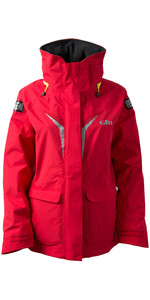 2019 Gill Damen OS3 Coastal Jacke BRIGHT RED OS31JW