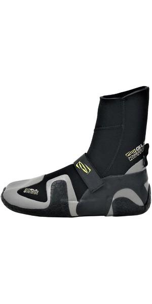 2018 Gul Power 5mm Split Toe Wetsuit Boot Black BO1309-B4