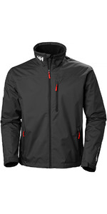2018 Helly Hansen Crew Midlayer Jacket Black 30253