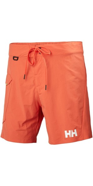 2018 Helly Hansen HP Shore Trunk Schwimmshorts Paprika 53015