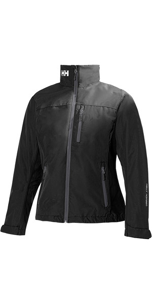 2018 Helly Hansen Damen Mid Layer Crew Jacke BLACK 30317