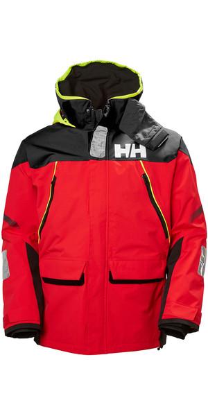 2019 Helly Hansen Skagen Offshore Jacket Alert Red 33907