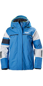 Helly Hansen Womens Salt Light Jacket Blue Water 33925
