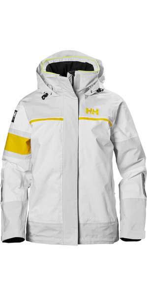 2018 Helly Hansen Damen Salt Light Jacke Nimbus Cloud 33925