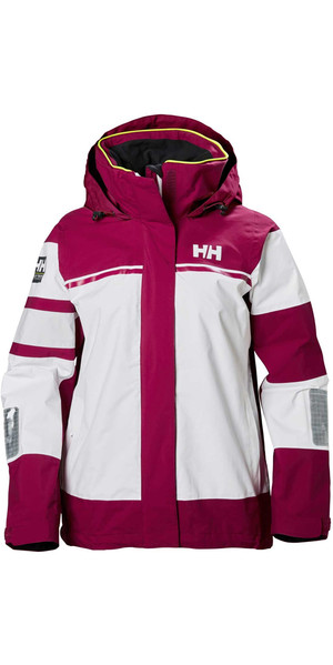 2018 Helly Hansen Womens Salt Light Jacket Plum 33925