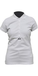 Premier Polo Blanc Pour Femmes Henri Lloyd Blanc Y1000004