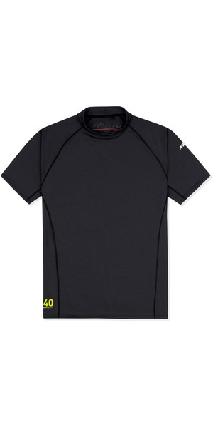 2019 Musto Insignia UV Fast Dry Short Sleeve T-Shirt Black SUTS008