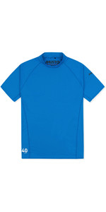 2020 Musto Uv Fast Dry Kurzarm T-shirt Brilliant Blue 80900
