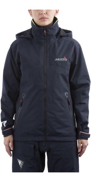 2019 Musto BR1 Inshore-jas voor dames True Navy SWJK016