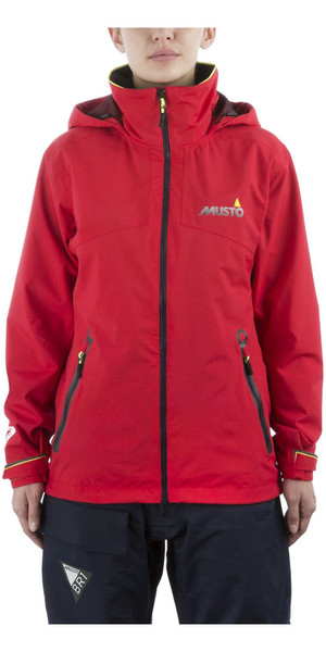2019 Musto Dame BR1 Inshore Jacket True Red SWJK016